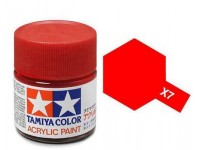 Tamiya X-7 Red 23 ml - 81007
