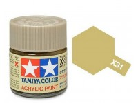 Tamiya X-31 Titanium gold gloss 23 ml - 81031