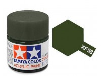 Tamiya XF-58 Flat olive green 23 ml - 81358