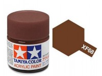 Tamiya XF-68 Flat NATO brown 23 ml - 81368