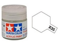 Tamiya X-35 Semi gloss clear 10 ml - 81535