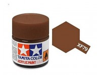 Tamiya XF-79 Mini flat linoleum deck brown 10 ml - 81779