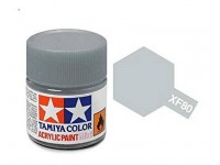 Tamiya XF-80 Mini flat royal light grey 10 ml - 81780