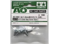 Tamiya Step screw 4 x 11.5 mm 5 st. - 84175