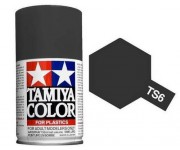 Tamiya TS-6 Matt black 100 ml - 85006