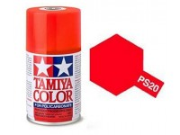 Tamiya PS-20 Fluorescent red 100 ml - 86020