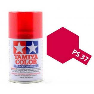 Tamiya PS-37 Translucent red 100 ml - 86037