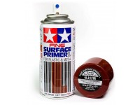 Tamiya Fine surface primer plastic/metal oxide red 180 ml - 87160
