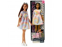 Barbie Mattel Fashionistas To tie dye for curvy - FJF42