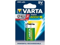 Varta Power 9V blok-batterij Ready2Use 200mAh 1st