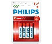 Philips PowerLife alkaline AAA batterij (potlood) 8st
